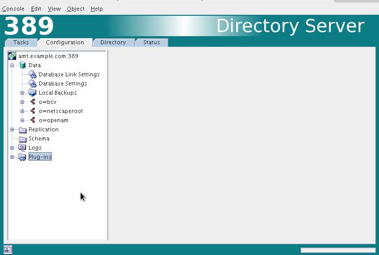 Založené suffixy pro jednotlivé databáze.