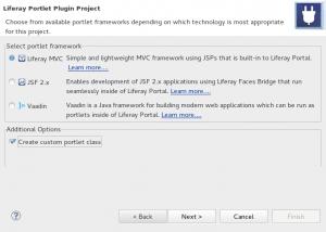 Liferay MVC framework