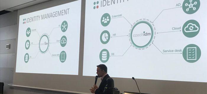 Identity Management představil Pavel Bors na bezpečnostní konferenci CEDEG.